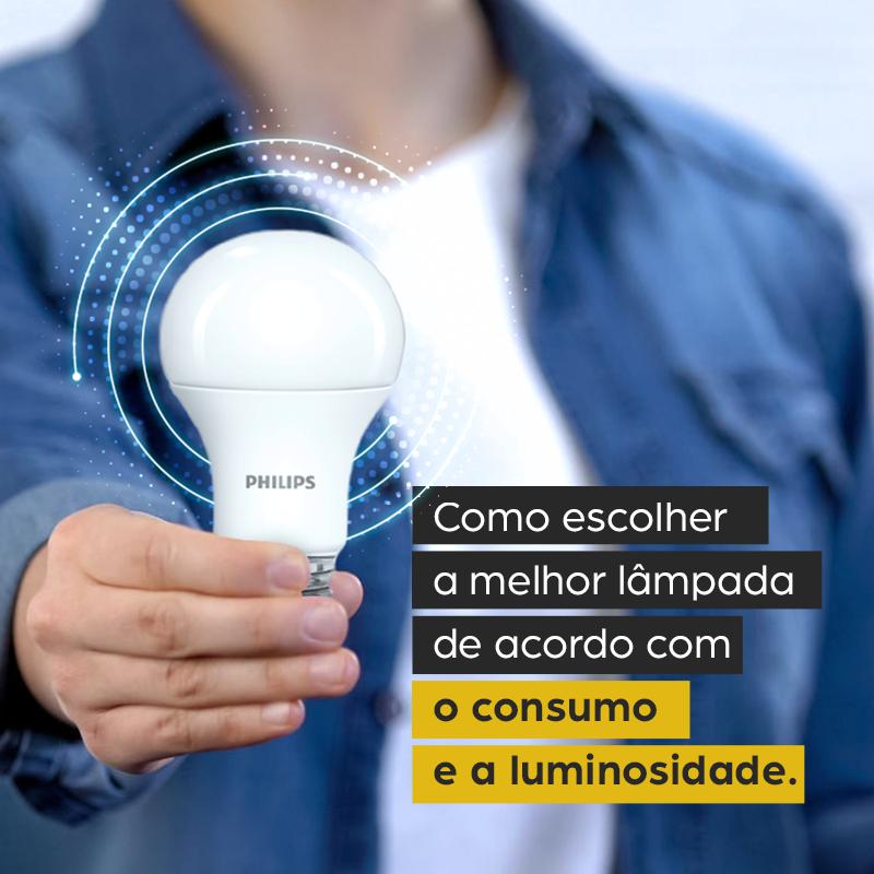 Como escolher a melhor lâmpada de acordo com o consumo e a luminosidade